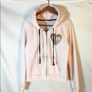 PINK Victoria Secret Pale Pink Hoodie size Medium